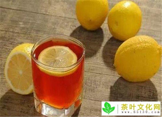 柠檬冰红茶--去暑清热生津止渴